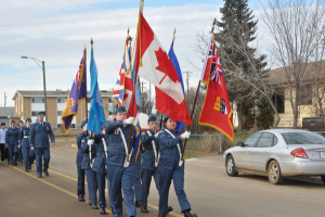 Remembrance Day in High Prairie 2016