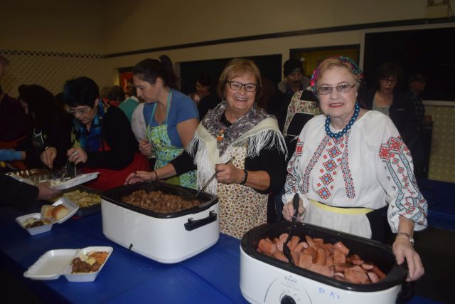 Pics from the Ukrainian Baba's Supper, November 2, 2017